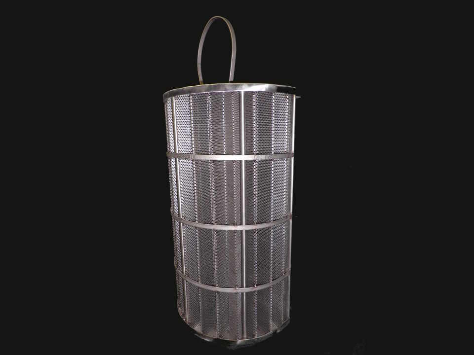 Stainless Steel Duplex Double Basket Strainer